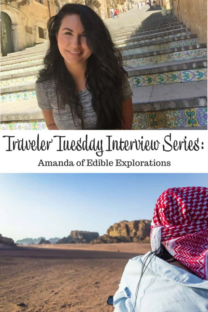 Traveler Tuesday Travel Blogger Interview with Amanda of Edible Explorations
