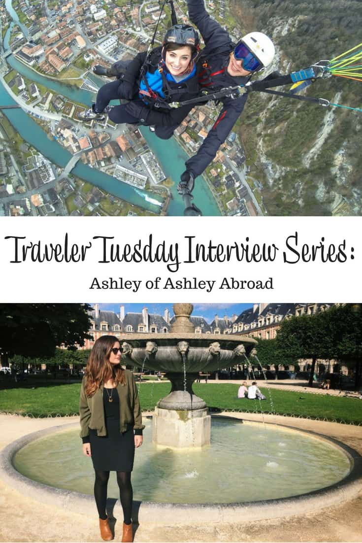 Traveler Tuesday - Ashley of Ashley Abroad