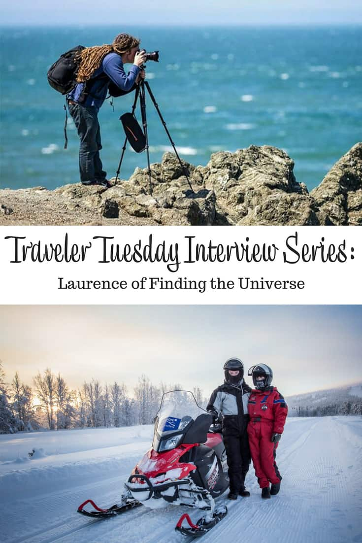 Traveler Tuesday - Laurence of Finding the Universe