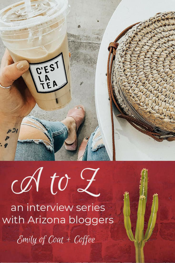 A to Z - Emily of Coat + Coffee