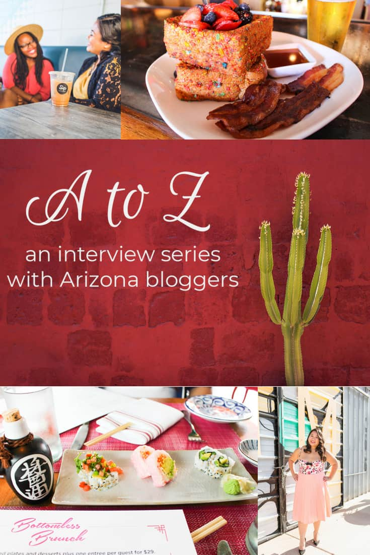 A to Z - Merichelle of She Forks PHX