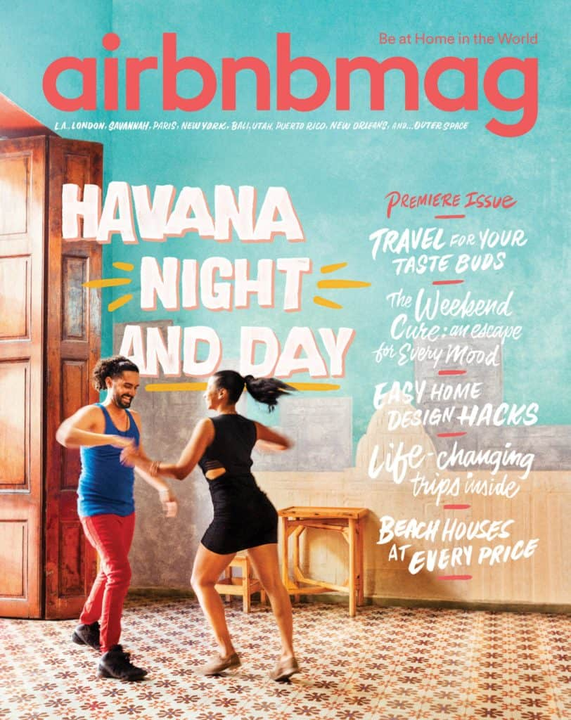 Airbnb Magazine First Edition