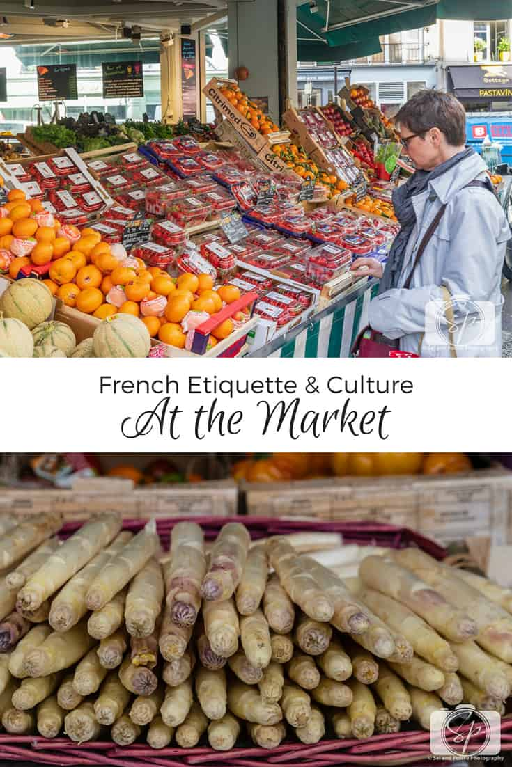French Etiquette & Culture - At the Market