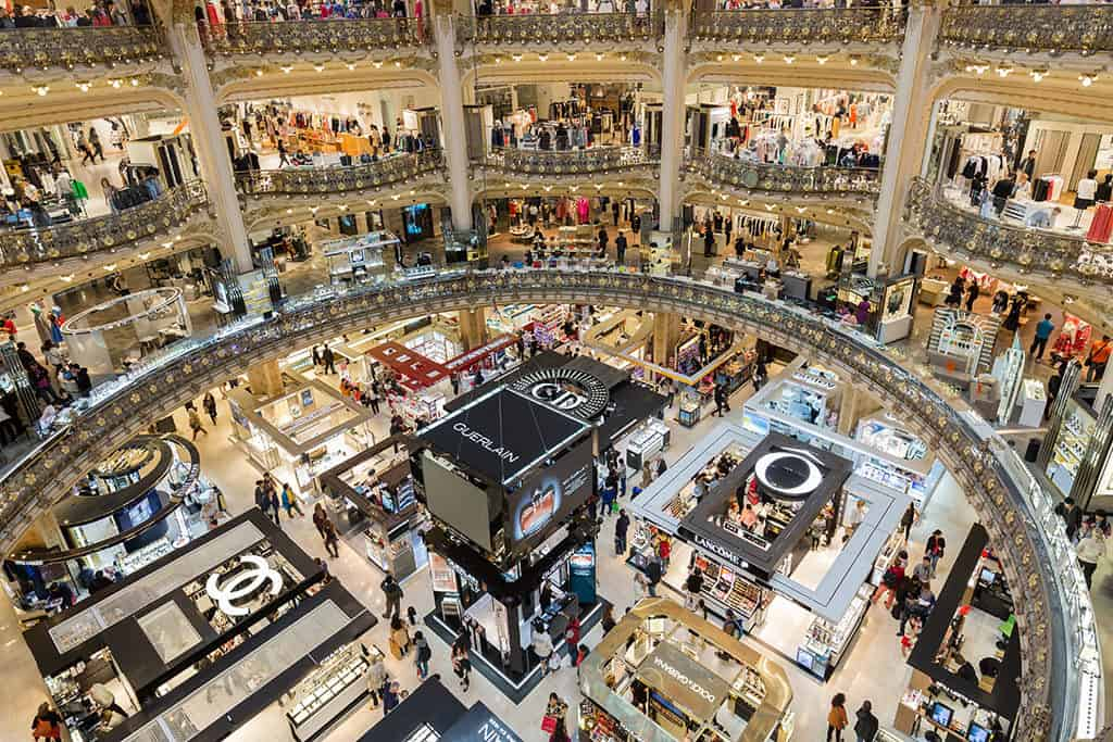 Galeries Lafayette Department Store Paris