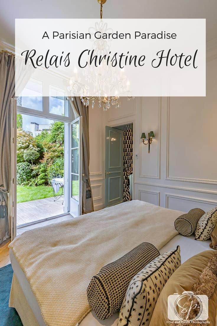Relais Christine Hotel - A Parisian Garden Paradise