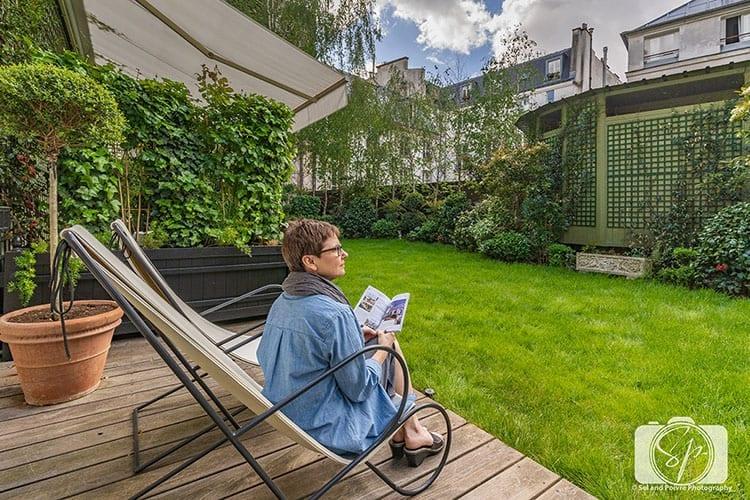 Relais Christine Paris - Andi on Room 16 Garden Terrace hero