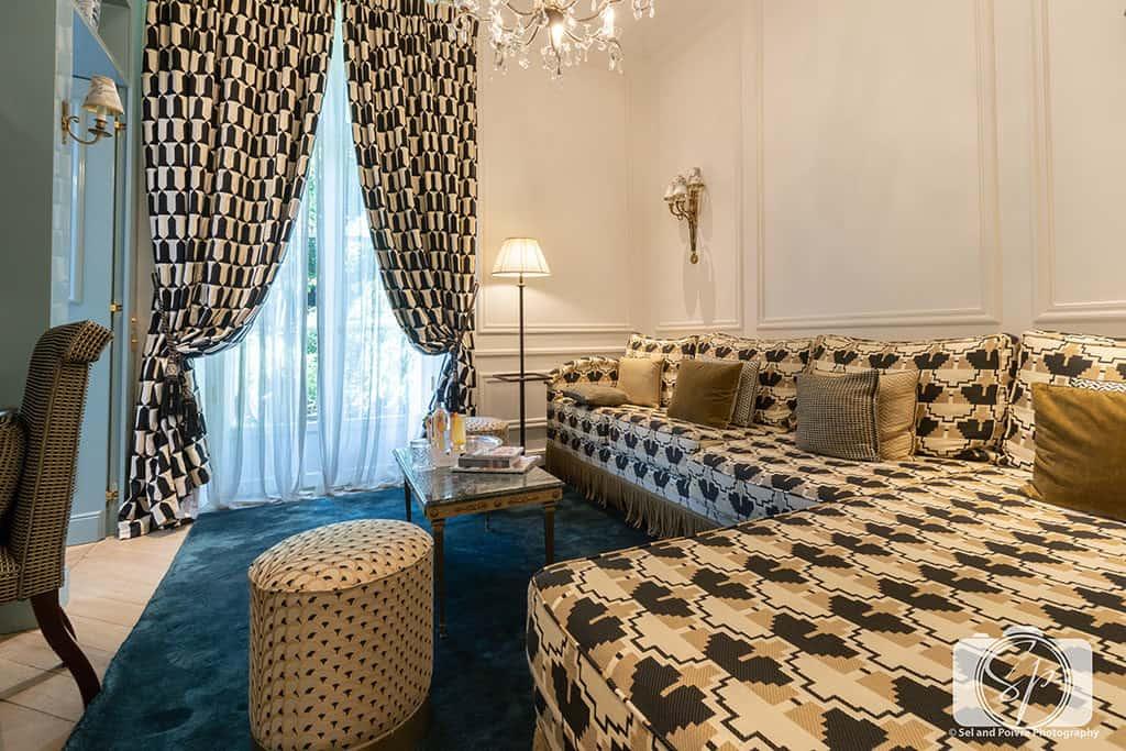 Relais Christine Paris - Room 16 sitting room 2