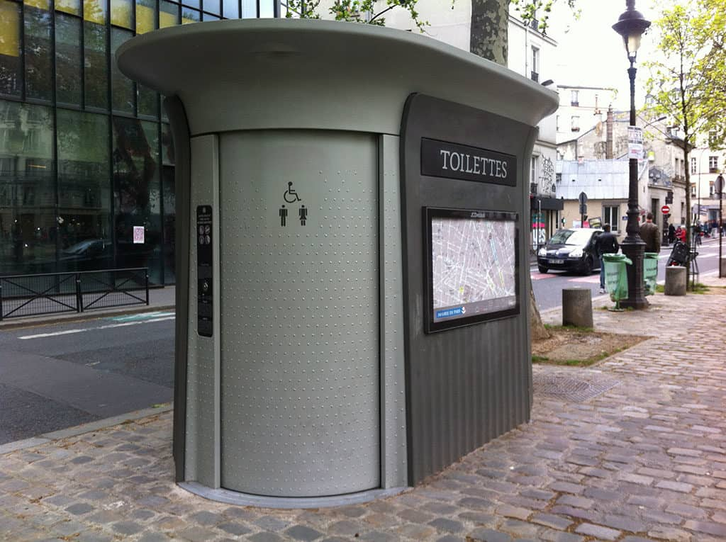 Toilettes publiques - sanisette