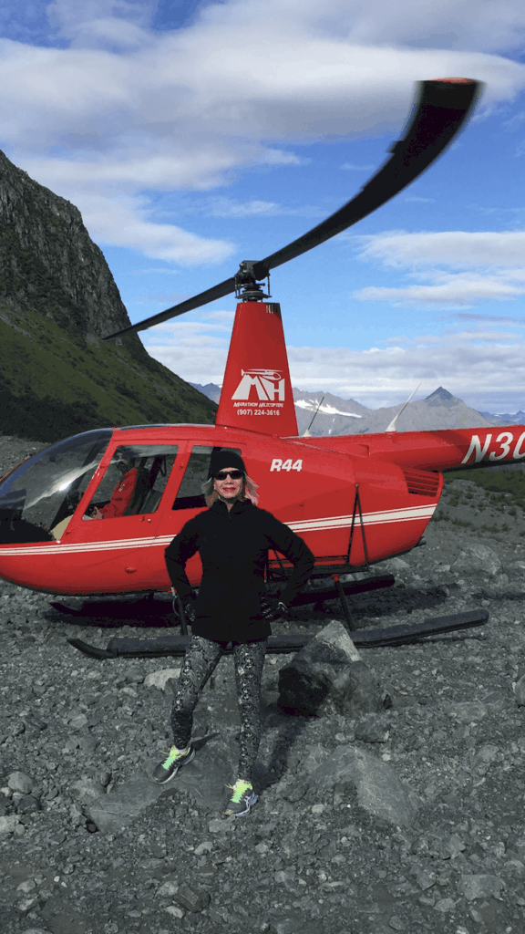 Traveler Tuesday - Linda On The Run Helicopter