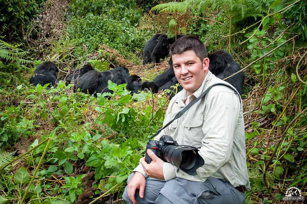 Traveler Tuesday - Patrick of Adventographer_Silverback-Gorilla-Trekking-Rwanda