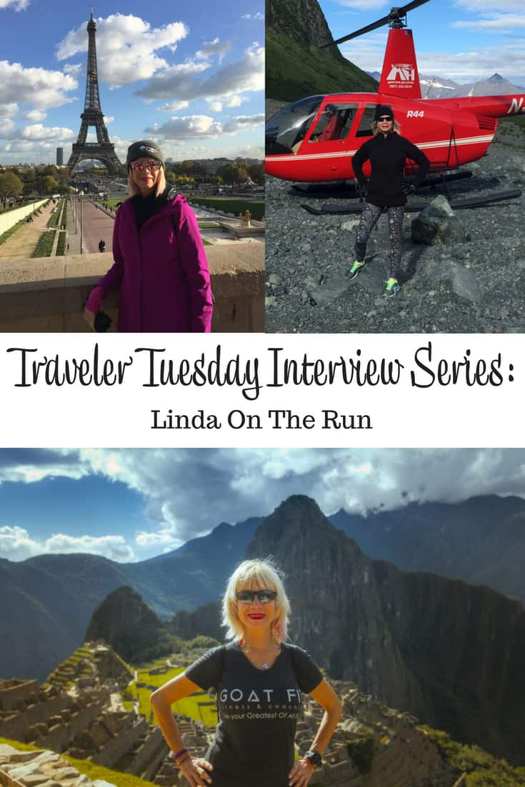 Traveler Tuesday - Linda On The Run