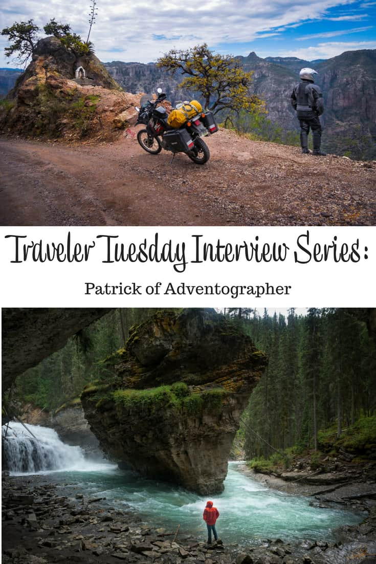 Traveler Tuesday - Patrick of Adventographer