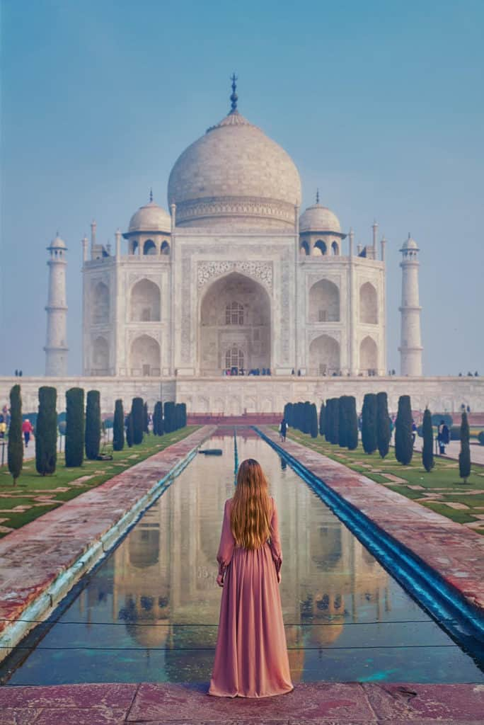 Traveler Tuesday - Victoria of Follow Me Away - Taj Mahal