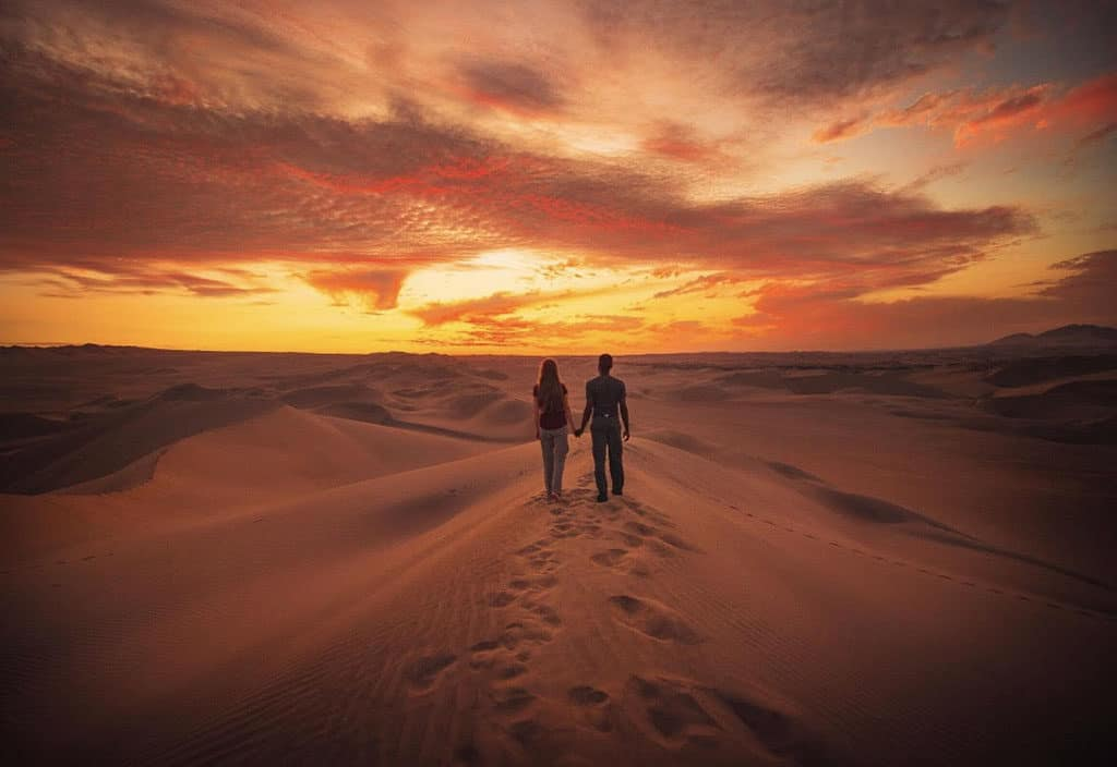 Traveler Tuesday - Victoria of Follow Me Away - Victoria and Terrence Desert