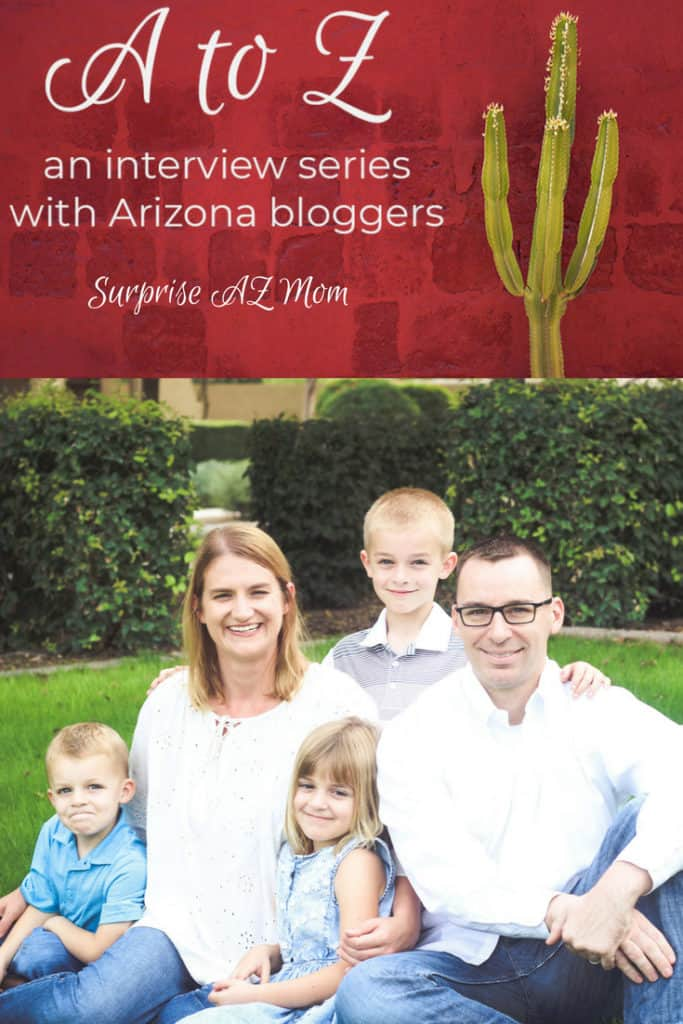 A to Z – Surprise AZ Mom