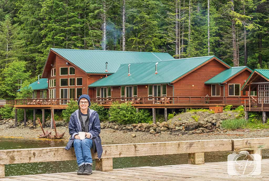 Alaska-SteamBoat-Lodge-Andi on the Dock