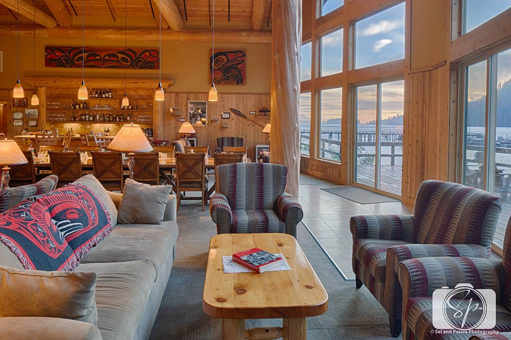 Alaska SteamBoat Lodge Great Room Sitting Area
