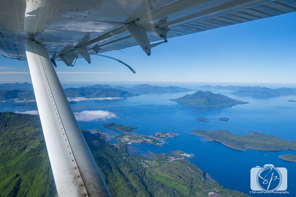 Flying home from Steamboat Bay to Ketchikan on Tanguan Air