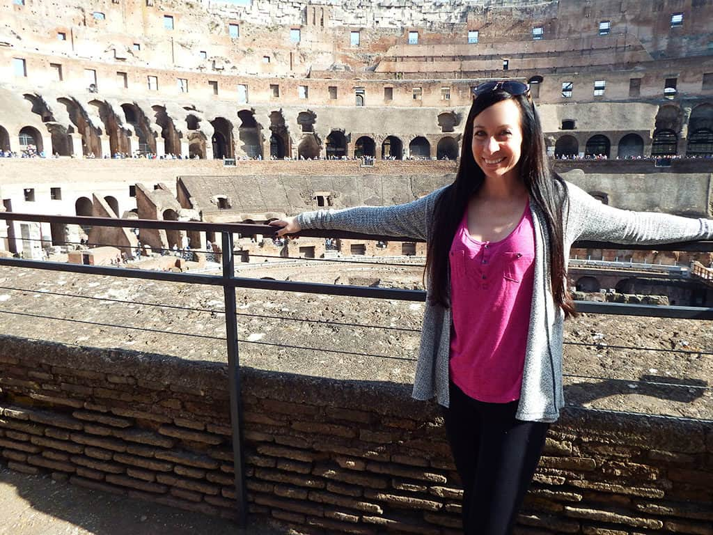 Traveler Tuesday - Ashley of My Wanderlusty Life_rome colosseum