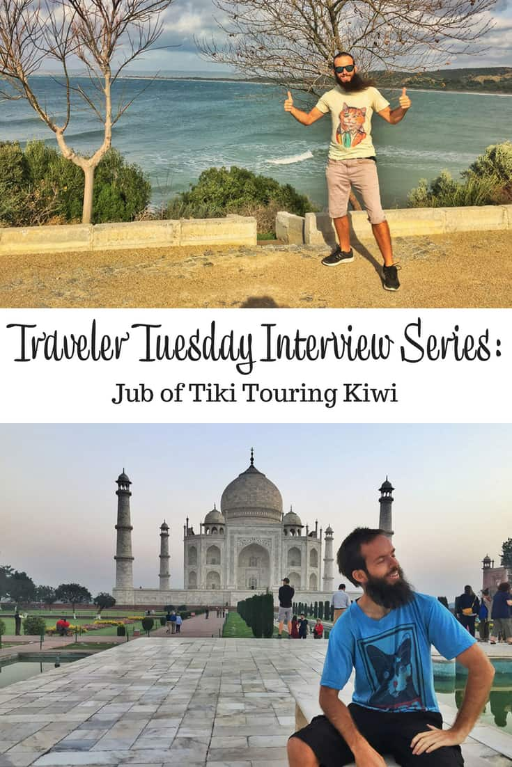 Traveler Tuesday - Jub of Tiki Touring Kiwi