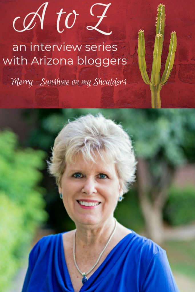 A to Z – Merry of Sunshine on my Shoulders