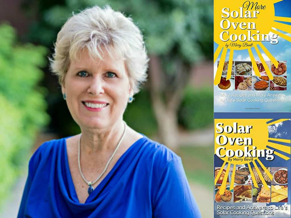 A to Z - Merry of Sunshine on my Shoulders with her Solar Cooking Books