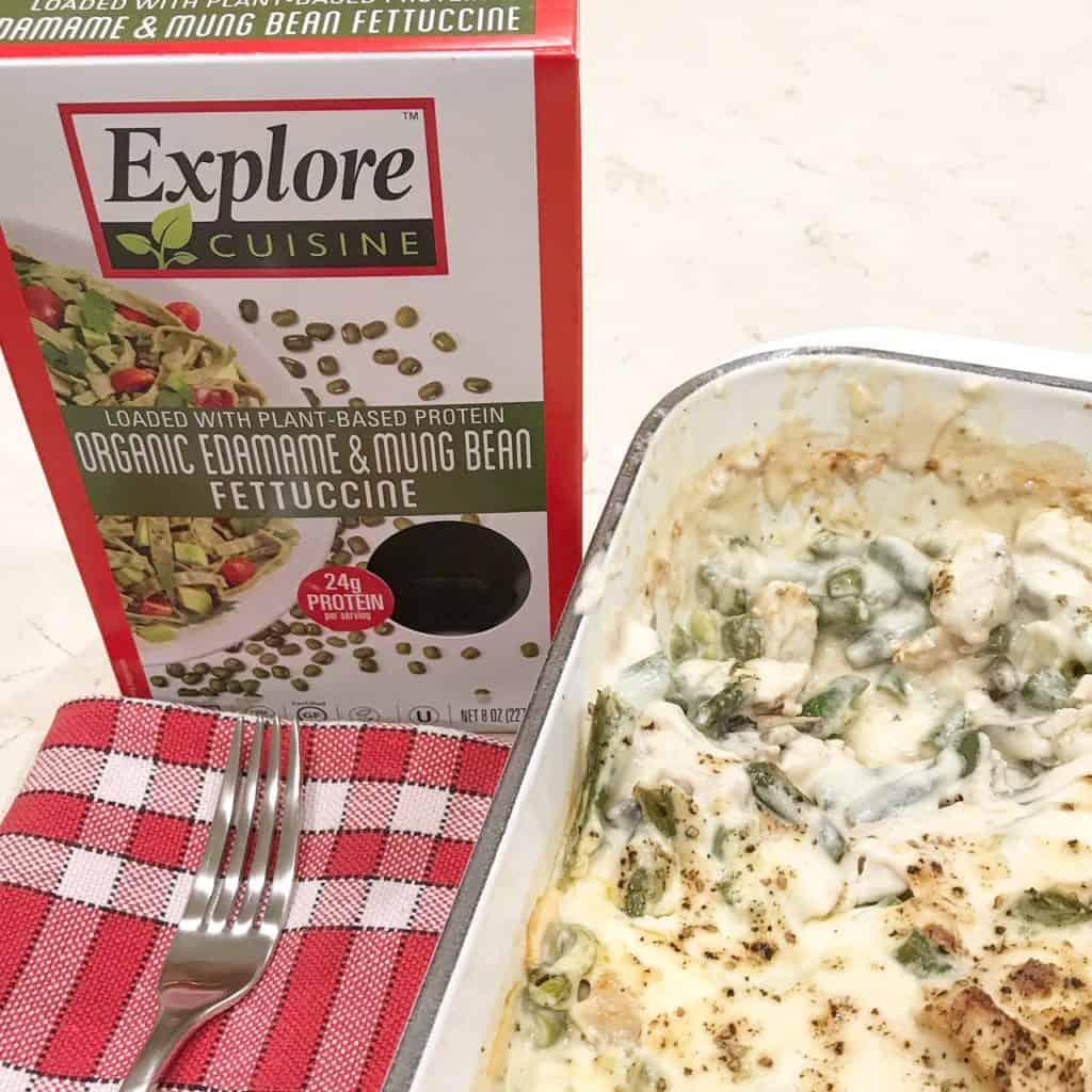 Explore Cuisine Fettuccine