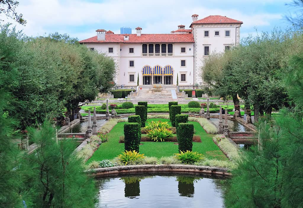 Miami Florida Vizcaya Museum and Gardens