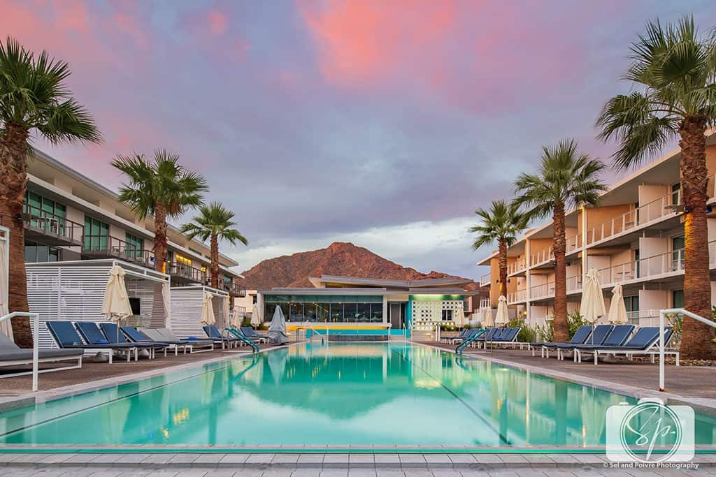 Mountain Shadows-Resort Pool at Sunrise