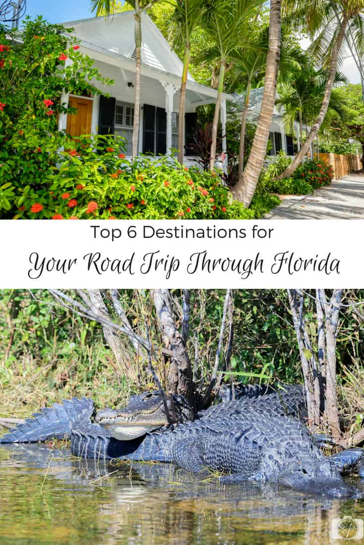 Top 6 Destinations for Your Road Trip Through Florida