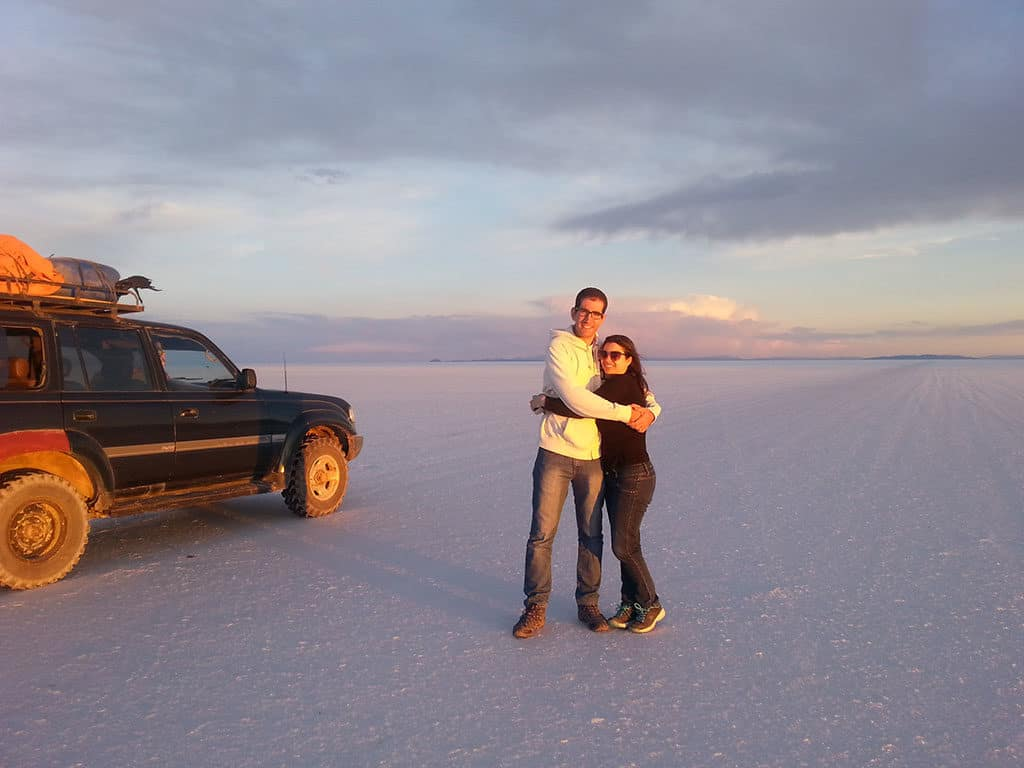 Traveler Tuesday - Ave and Ronnie of Home Life Abroad_Uyuni Salt Desert in south Bolivia