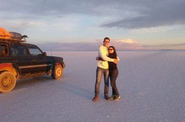 Traveler Tuesday - Ave and Ronnie of Home Life Abroad_Uyuni Salt Desert in south Bolivia hero