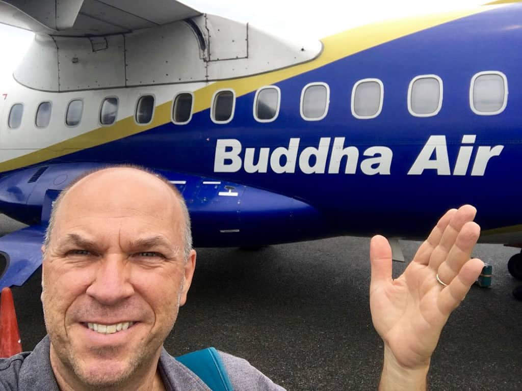 Traveler Tuesday - Charles McCool of McCool Travel_McCool on Buddha Air