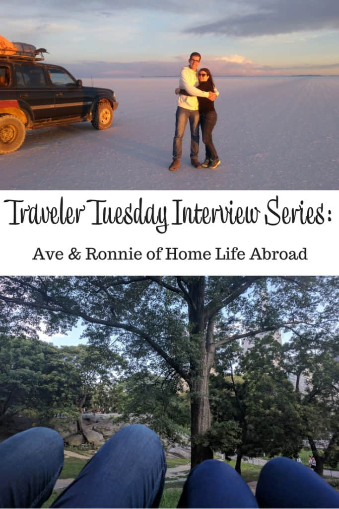 Traveler Tuesday Travel Blogger Interview with Ave & Ronnie of Home Life Abroad