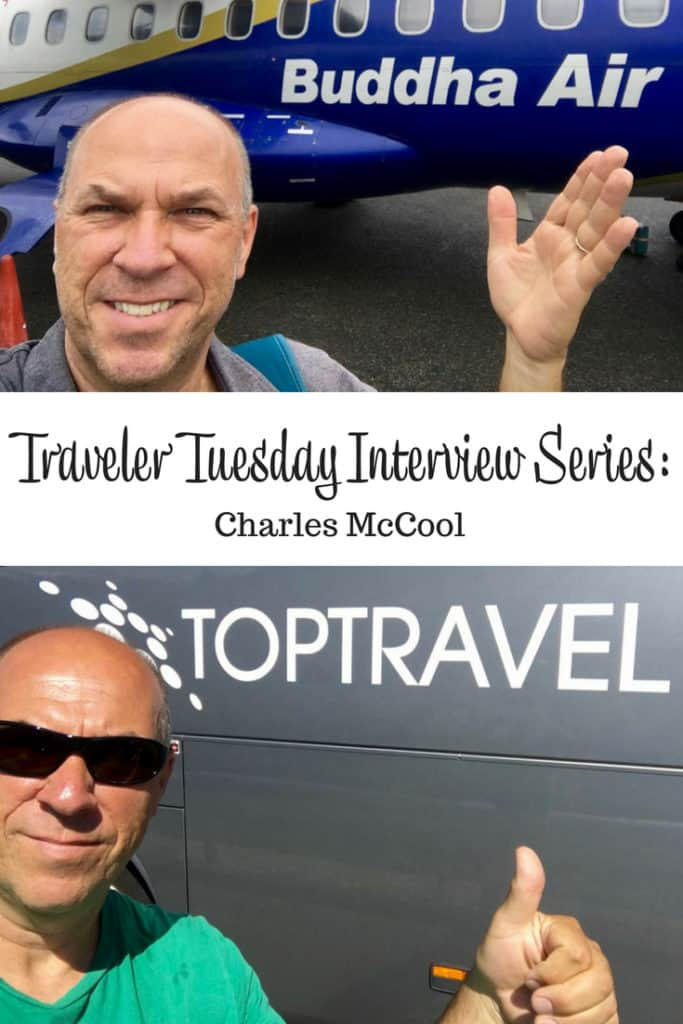 Traveler Tuesday Travel Blogger Interview with Charles McCool