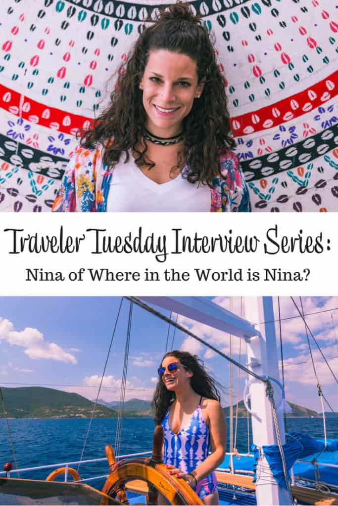 Traveler Tuesday Travel Blogger Interview with Nina of Where in the World is Nina
