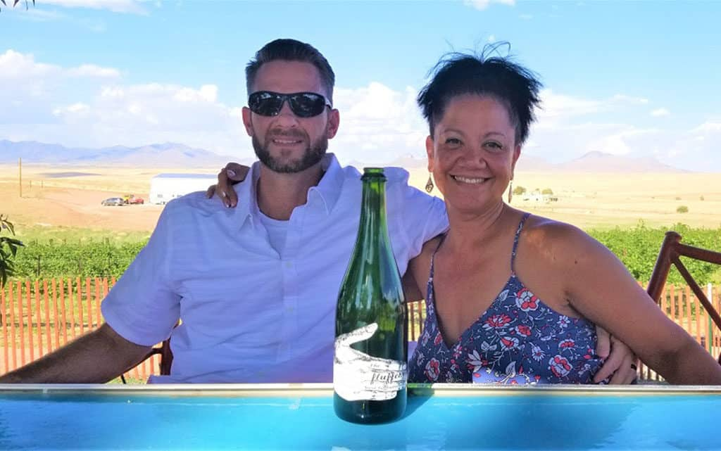 A to Z - Linda of Blossoming Widow_Sharing wine