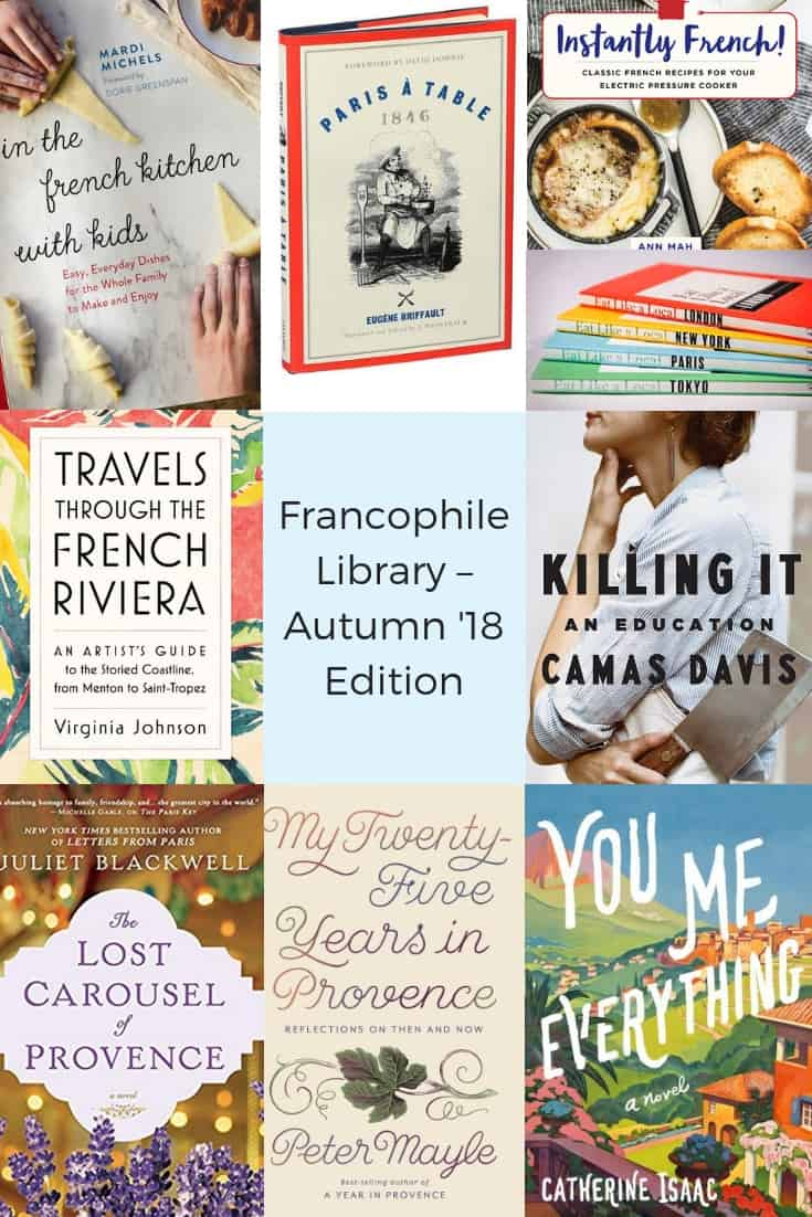 Francophile Library – Autumn 2018 Edition