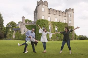 Jody Halsted Family in Ireland hero