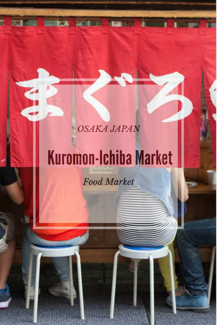 Osaka's Kuromon-Ichiba Market