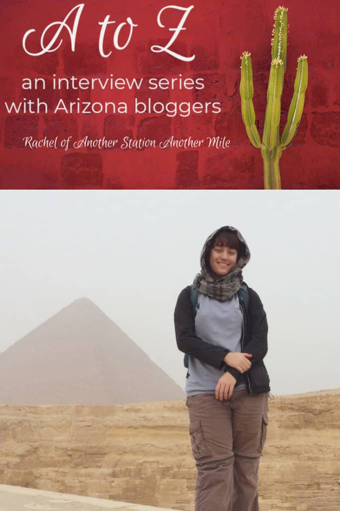 A to Z – Rachel of Another Station Another Mile