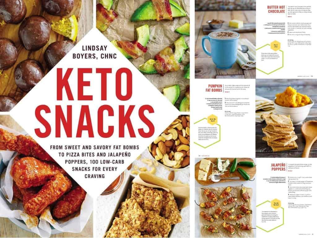 Keto Snacks by Lindsay Boyers
