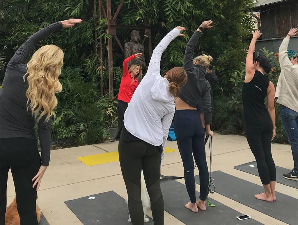 Yoga in Ojai California
