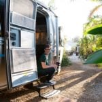 Andi in Airstream