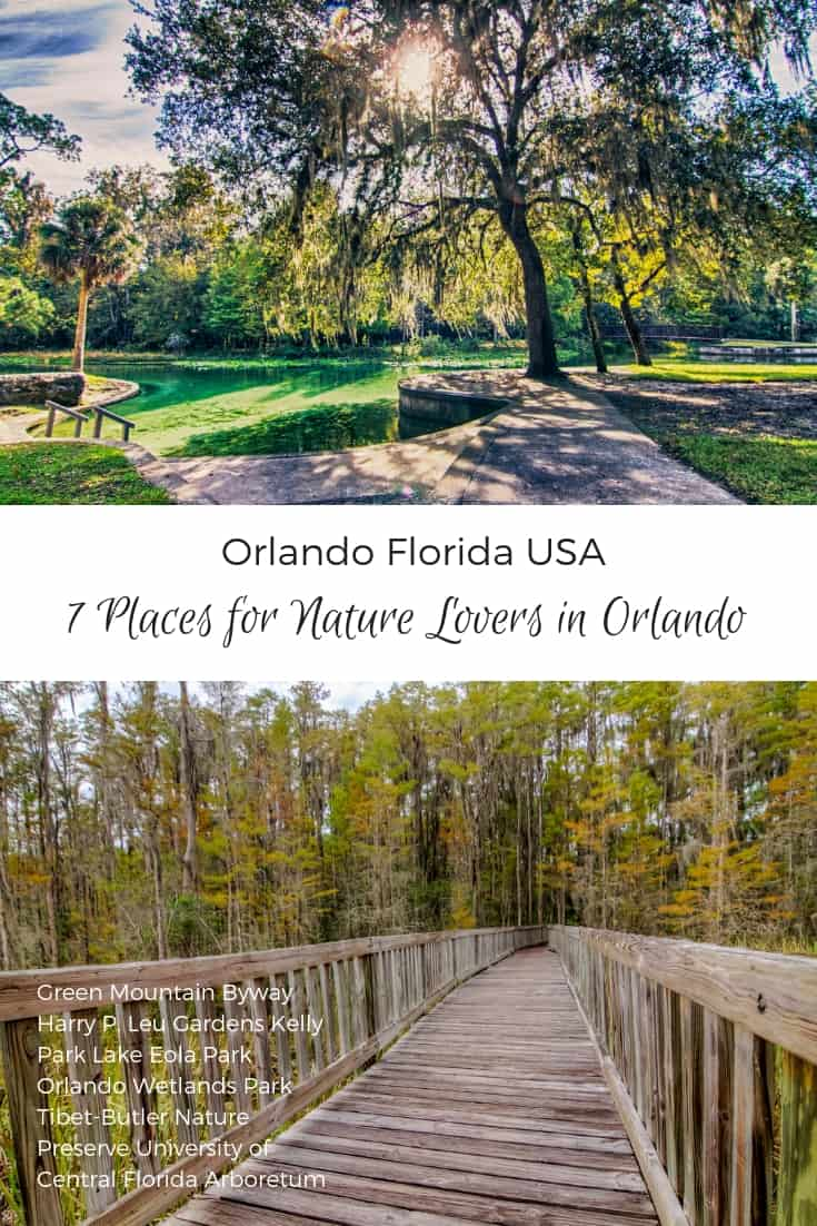 Orlando Travel Tips - 7 Places for Nature Lovers