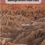 7 Things to Do in Anza-Borrego Desert State Park - Badlands