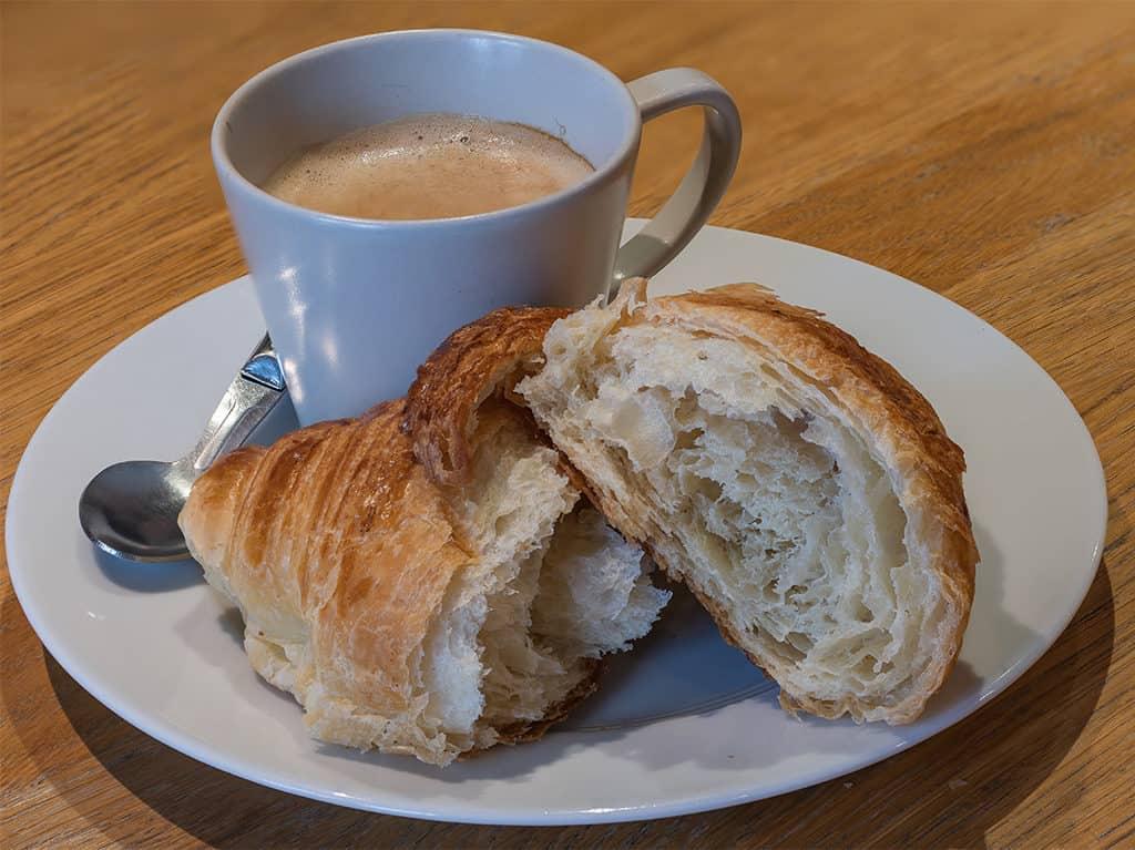 Croissant from Maison Landemaine Republique
