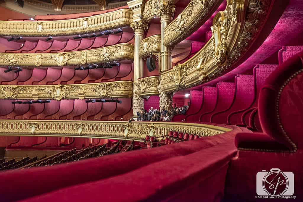 Inside Opera Garnier Paris
