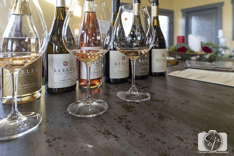 Keeler Estate Wines in Amity Oregon hero