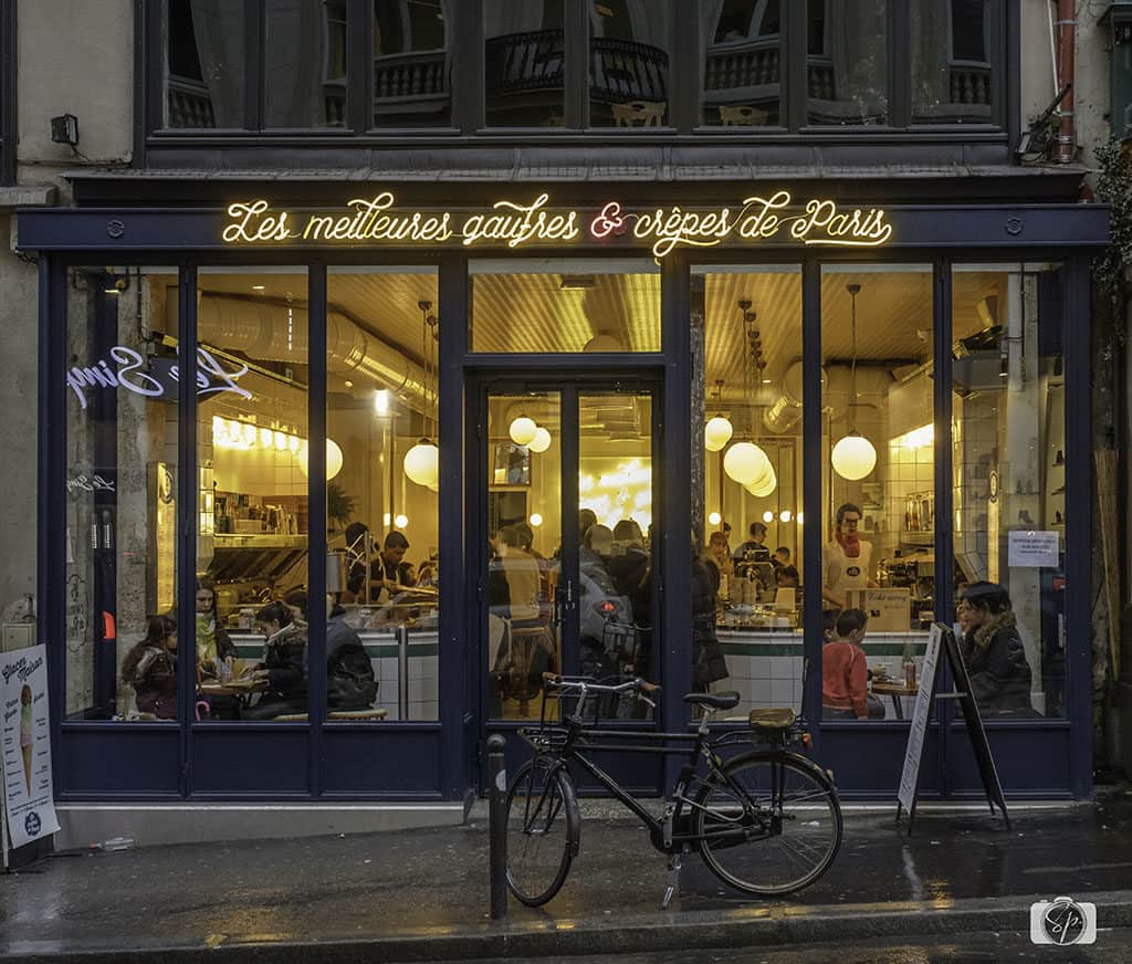Paris Restaurant Window